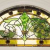 Edwardian stained glass panel, Cambridge