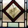 Detail - New design - Victorian stained glass door - Haddenham, Cambridgeshire