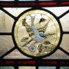 Detail 2 - New design - Victorian stained glass door - Haddenham, Cambridgeshire