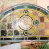 Restoration and rebuild of Victorian stained glass panel